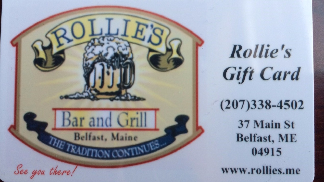 Rollie's Gift Cards Available!